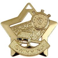 Mini Star Swimming Medal</br>AM718G